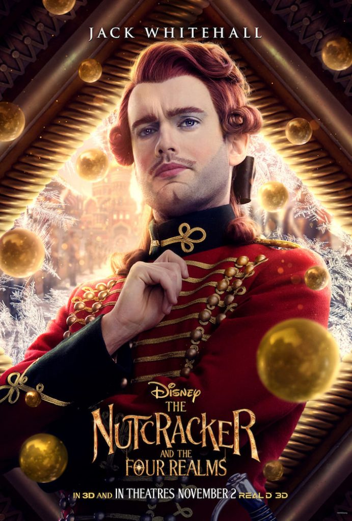 Jack Whitehall plays HARLEQUIN in Disney movie The Nutcracker And The Four Realm