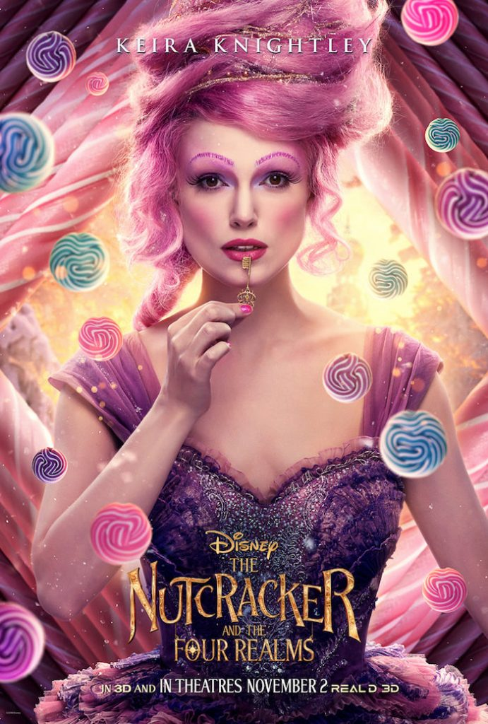 Keira Knightley plays SUGAR PLUM FAIRY in Disney movie The Nutcracker And The Four Realms