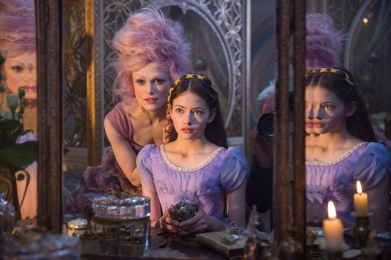 Disney Feature Film THE NUTCRACKER AND THE FOUR REALMS stars Keira Knightley, Mackenzie Foy, Helen Mirren, Morgan Freeman, Misty Copeland