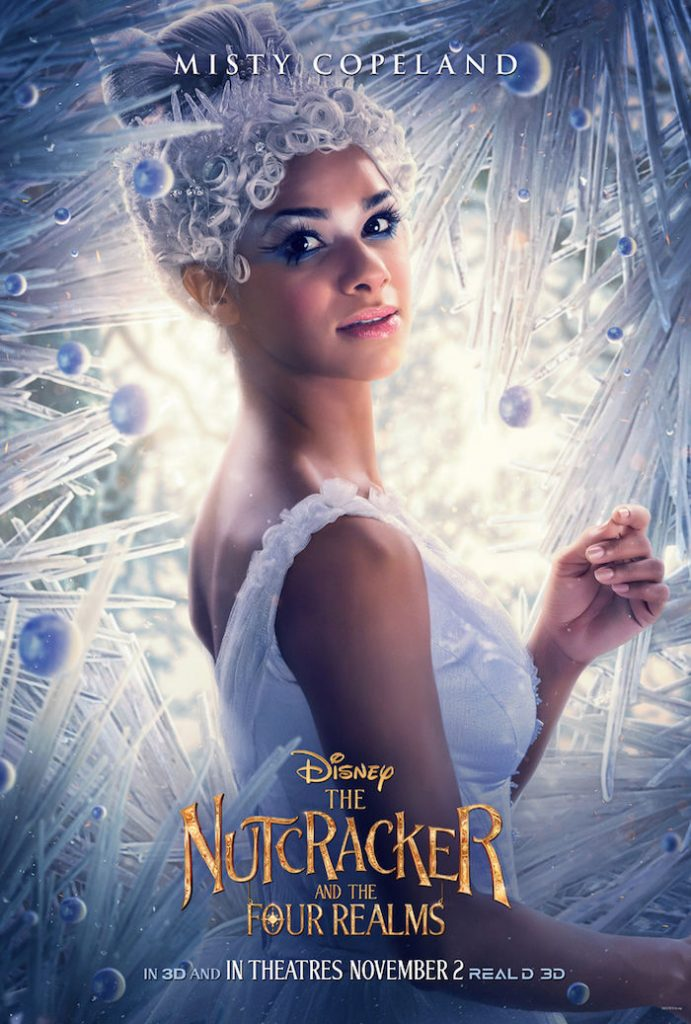 Misty Copeland plays BALLERINA in Disney movie The Nutcracker And The Four Realms