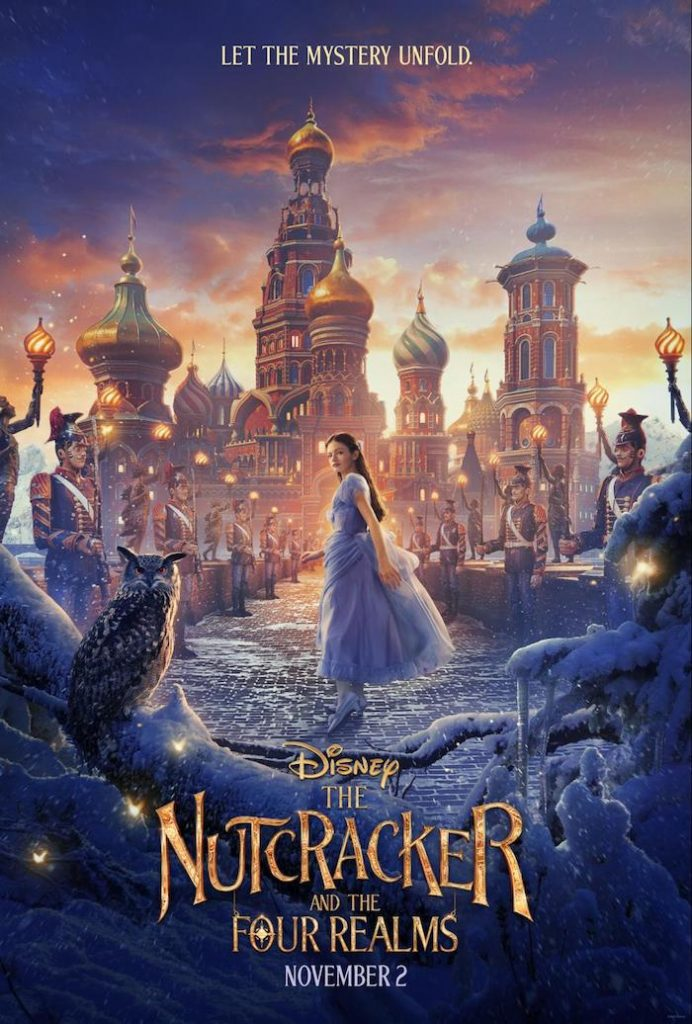 Disney Feature Film THE NUTCRACKER AND THE FOUR REALMS stars Keira Knightley, Mackenzie Foy, Helen Mirren, Morgan Freeman, Misty Copeland #Nutcracker #Disney #movies #MackenzieFoy #KeiraKnightley #holidaymovies #heartthis #TheNutcracker