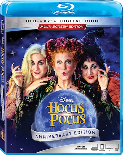 Disney's HOCUS POCUS stars 3 wild witches who return fro seventeenth-century Salem for a night of zany fun and comic chaos.