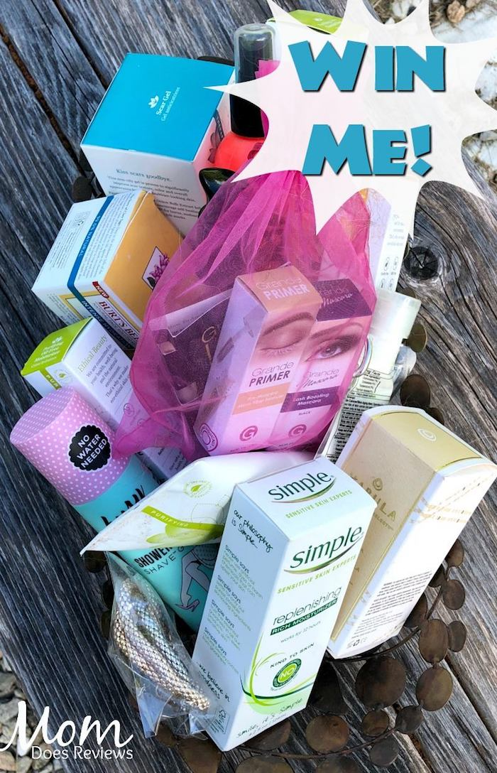 Mystery Beauty gift basket
