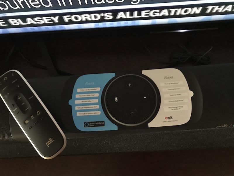 POLK Home Wireless Surround Sound System with Sound Bar