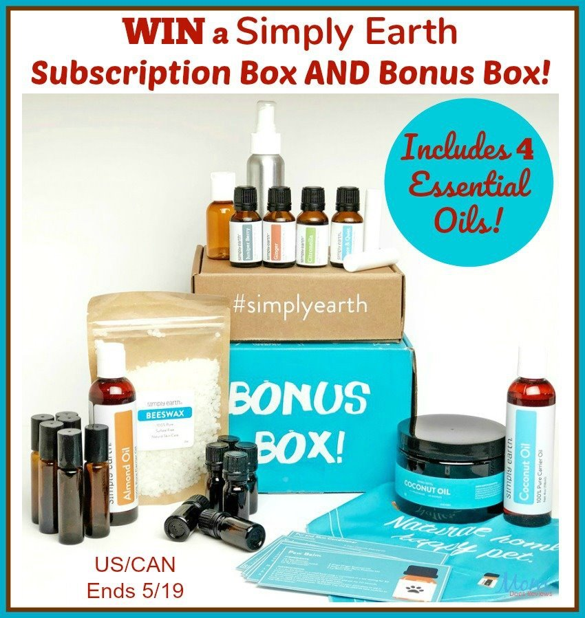 Simply Earth essential oils collection for home use
