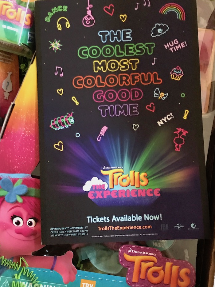 New York has a Trolls magic for your child! Spend a day at the theme park TROLLS THE EXPERIENCE!