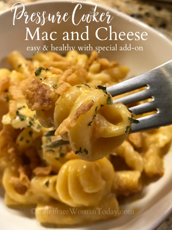 There are a lot of pressure cooker recipes. But this homemade Pressure Cooker Mac and Cheese recipe will be on your lunch or dinner plate in no time!