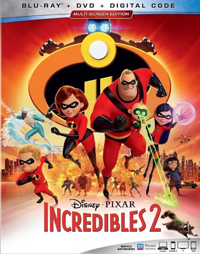 Shop for this INCREDIBLES 2 Blu-ray DVD for your incredible Disney family movie night