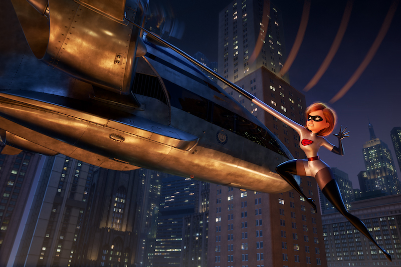 INCREDIBLES 2 is on Blu-ray dvd and makes a perfect gift for a Disney family movie night