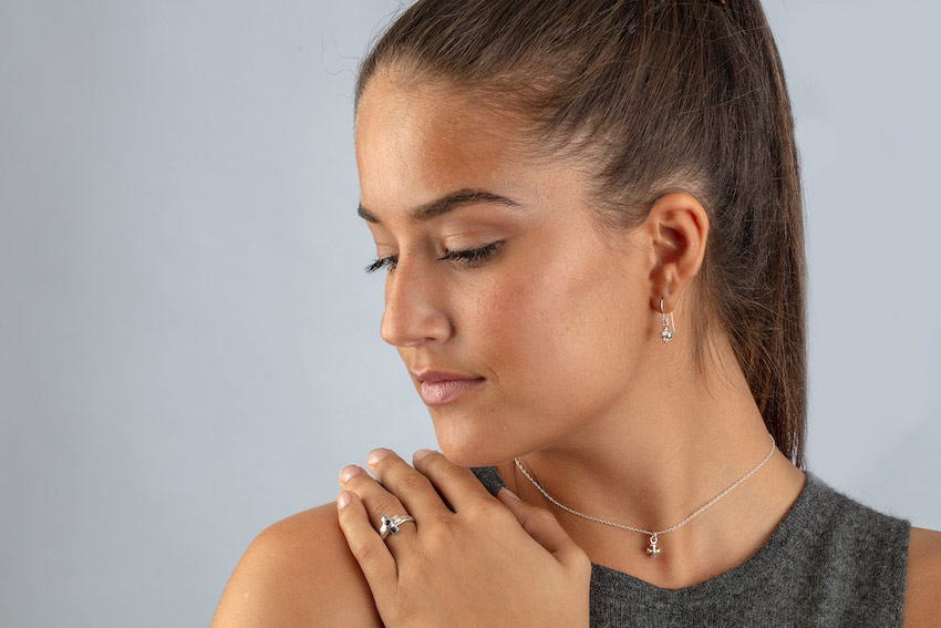 Charmed by A Cause jewelry is a truly perfect gift idea for a woman who has everything. The Maltese cross is a symbol of courage and protection.
