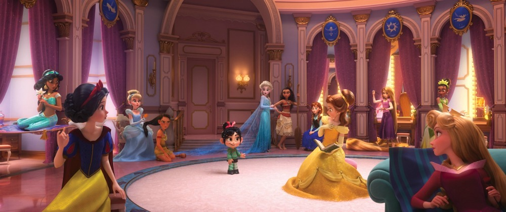 Vanellope's Royal Reunion With Disney Princesses in Ralph Breaks The Internet is fun and meaningful. Check out the behind-the-scenes unknown facts of building the fun environments and characters.