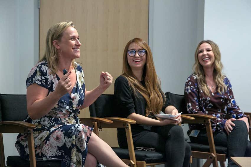 Oh My Disney Interview with Co-writer Pamela Ribon, Ami Thompson Art Director-characters, and Kira Lehtomaki, Head of Animation