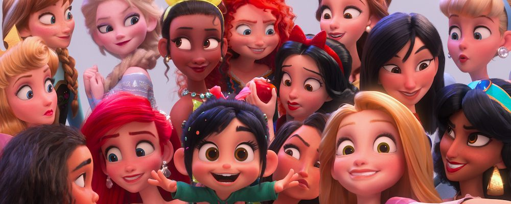 Vanellope's Royal Reunion With Disney Princesses in Ralph Breaks The Internet