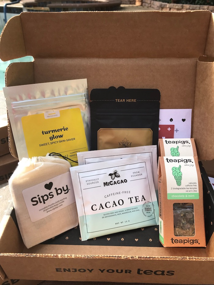 SIPS BY Tea Subscription Box will deliver a customized tea drinking experience to any woman who tries it.