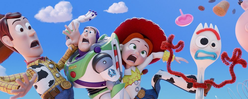 Toy Story 4 Opens In JUNE 2019 With A New FORKY Character!