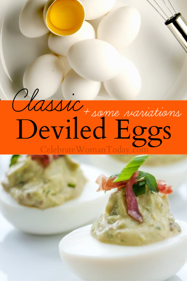 Do you want to make the best Classic Deviled Eggs recipe in an easy and healthy way? Check out at least 5 ways to make this recipe for Thanksgiving, Christmas and repeatable family celebrations #eggs #deviled eggs #celebratewoman #recipes #eggrecipe #deviledeggs recipe