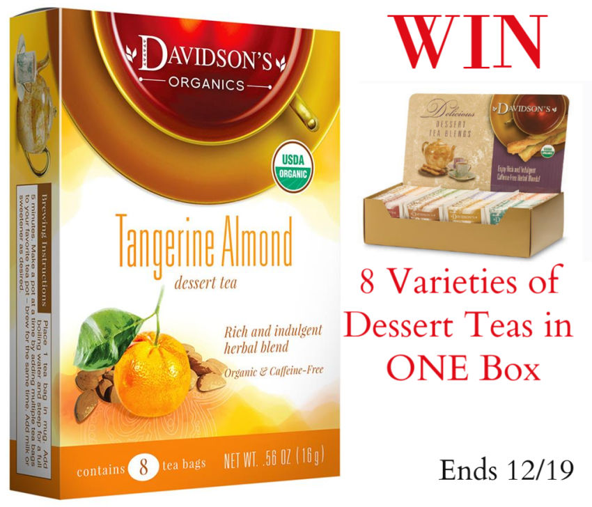 Women love Dessert Teas. Indulge in these Organic Davidsons Dessert Tea collection of light aromas and taste.