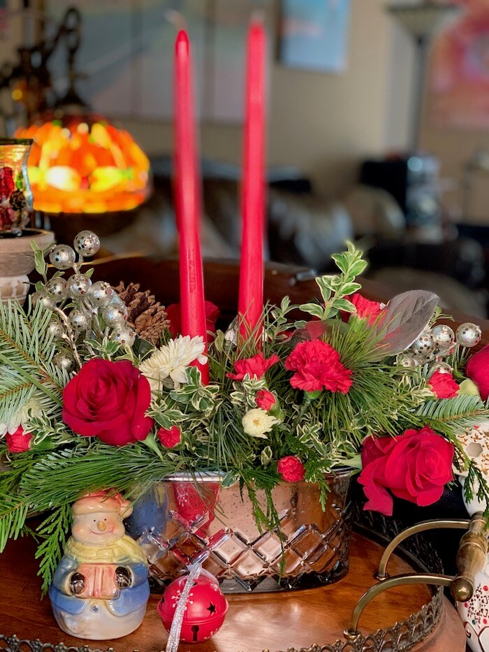Holiday flowers women prefer