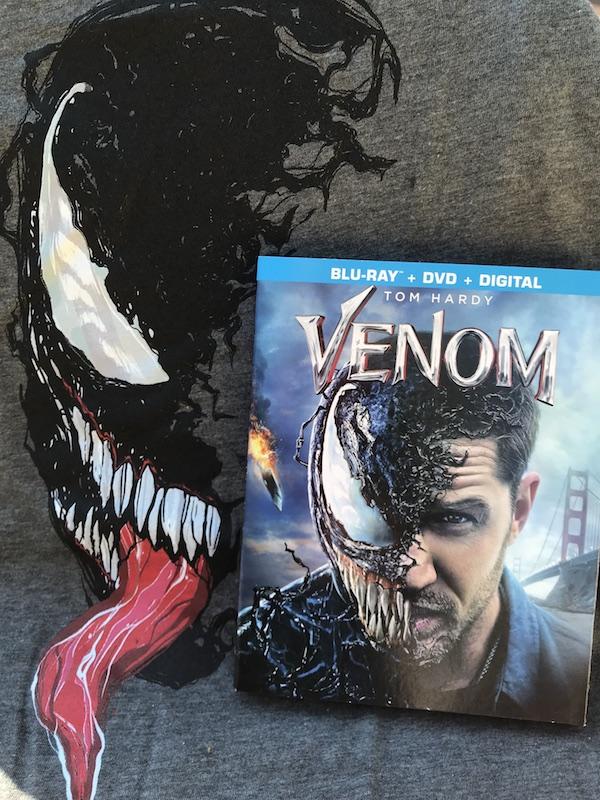 VENOM tells the evolution story of Marvel's most enigmatic, complex and badass character Venom – Eddie Brock #bluray #DVD #holidays #giftideas #movies #Marvel #VenomMovie