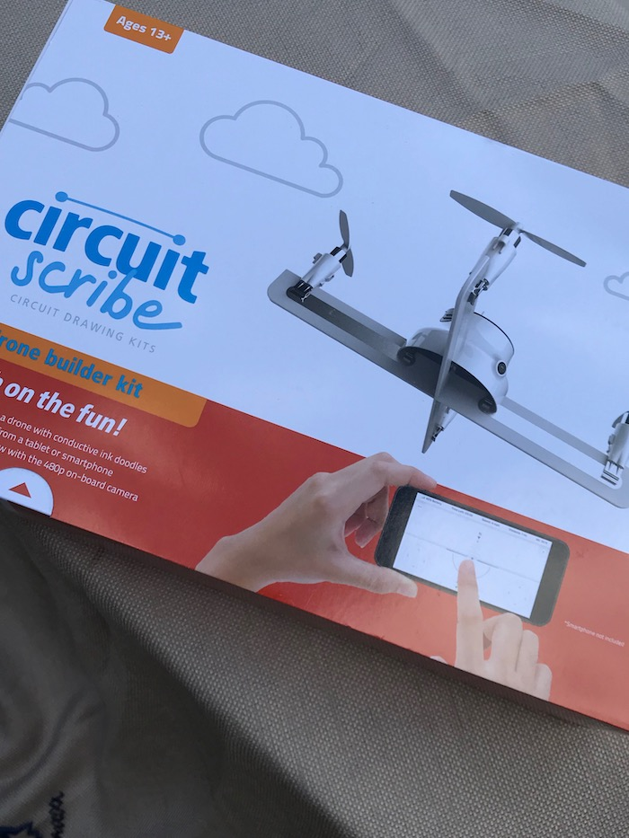 Looking for gift ideas for kids that develop creativity? This Drone Builder Kit from Circuit Scribe is a phenomenal tool that teaches HOW-TOs and gives a child a pre-engineering lesson in clear terms and hands-on experience.