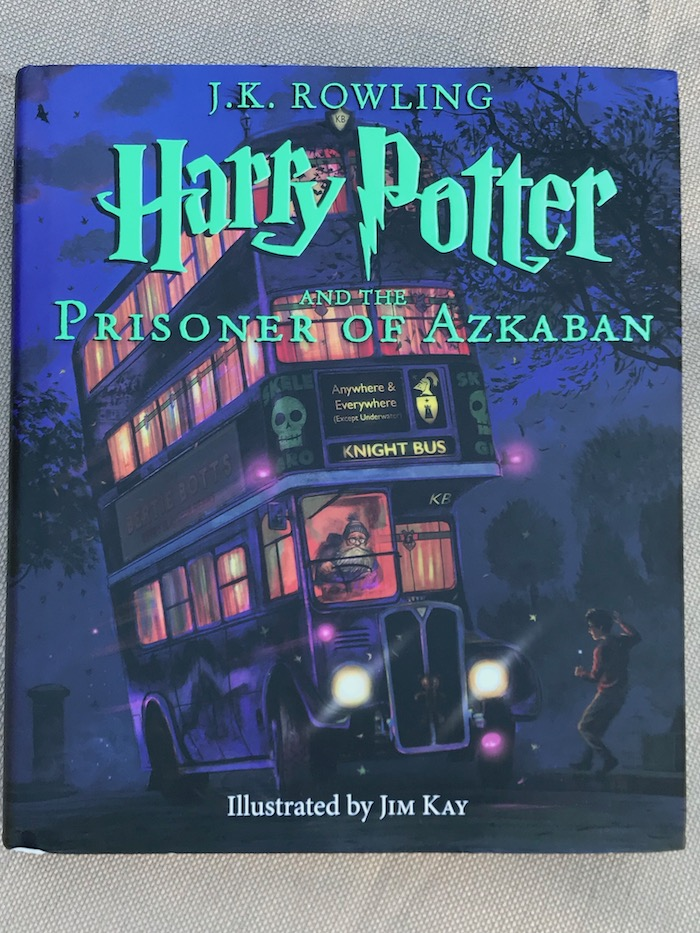 Looking for gift ideas for kids to inspire creativity? Harry Porter and the Prizoner of Azkaban The Illustrated Edition will fuel imagination of your child.