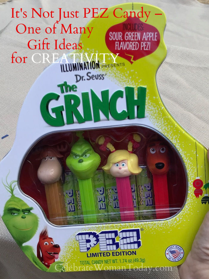 Who is a huge Fan of PEZ candy? This iconic candy with character offers the limited edition candy dispenser heads with this THE GRINCH PEZ gift tin.