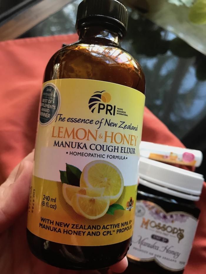 manuka honey cough elixir homeopathic formula