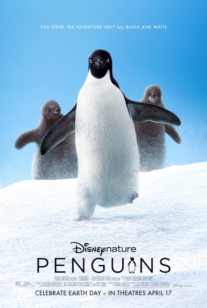 PENGUINS documentary film by Disneynature is a fascinating story of a male Adélie penguin named Steve in the Antarctic.