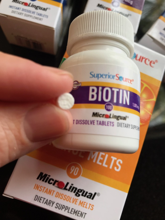 Superior Source Biotin sublingual instant dissolve tablets