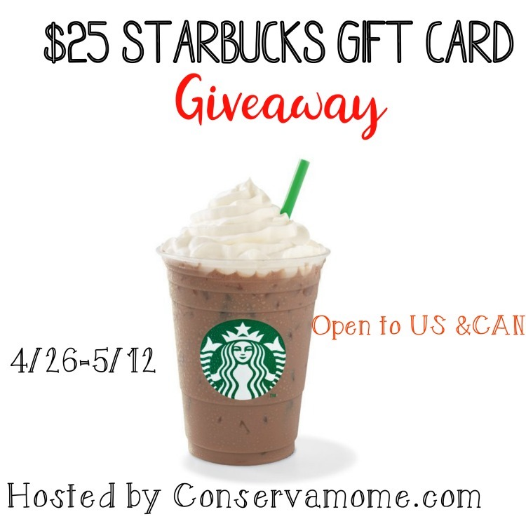 Starbucks gift card to celebrate Spring season and Holidays