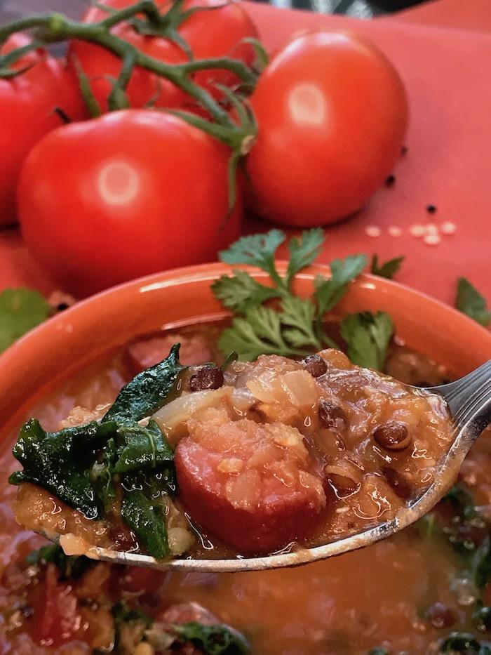 sausage lentil soup taste of home