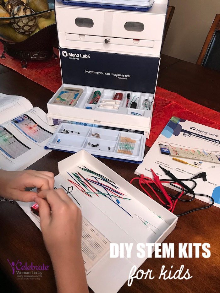 DIY STEM Kits for kids Mand Labs electronic hobby kits