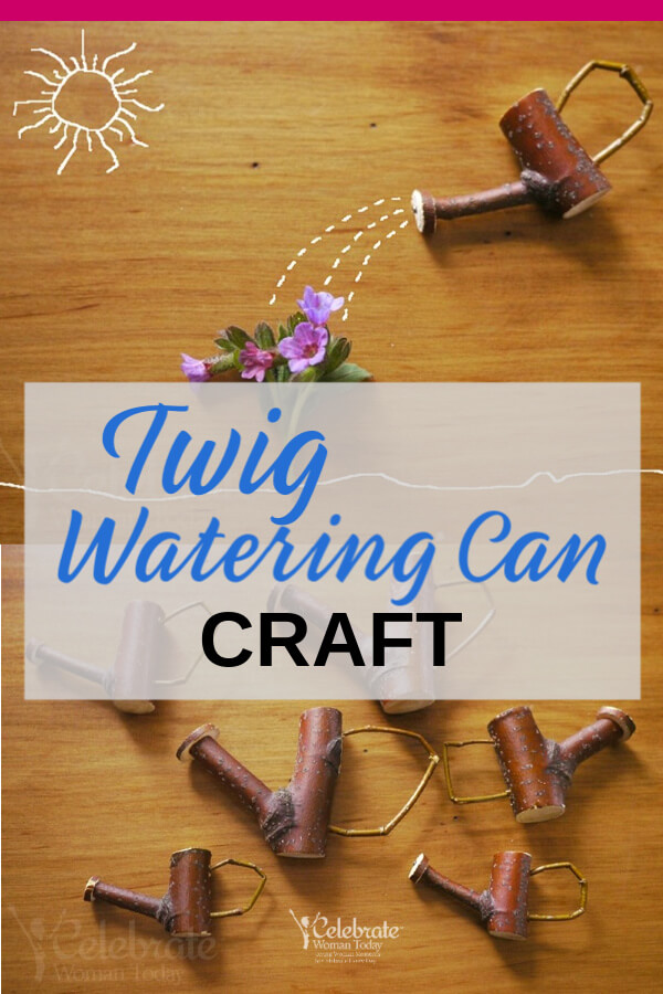 Twig Watering Can Craft Tutorial