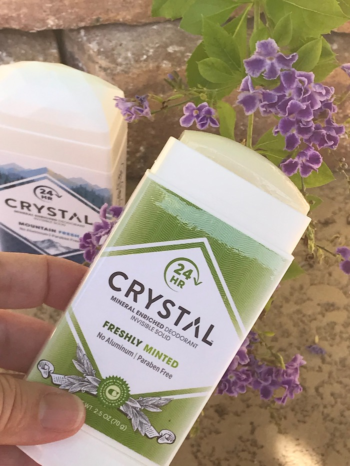 Mineral Enriched Crystal deodorant