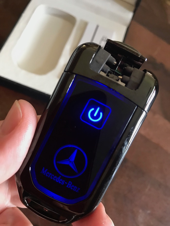 Plasma lighter aka electric arc lighter