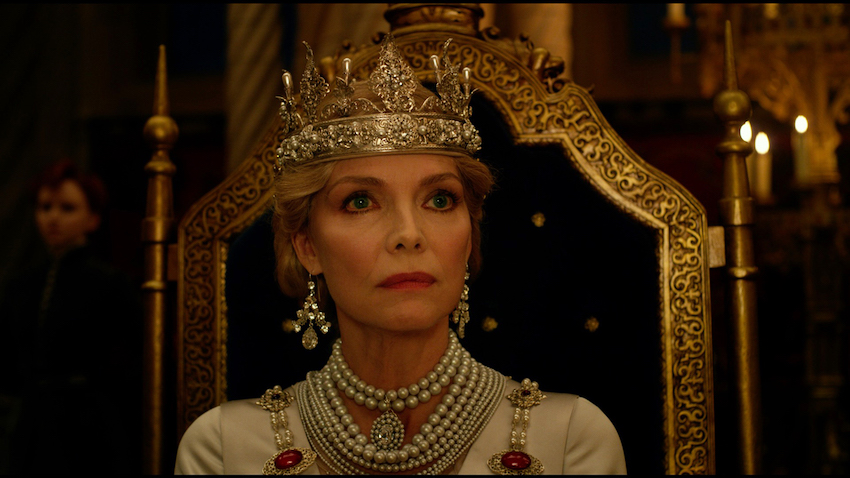 Michelle Pfeiffer will show what the Queen can do in MALEFICENT: MISTRESS OF EVIL