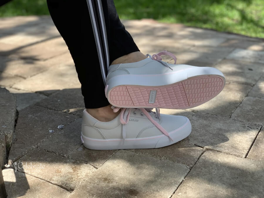 sneakers for good posture