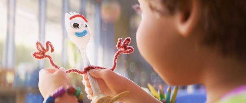 Toy Story 4 Forky toy