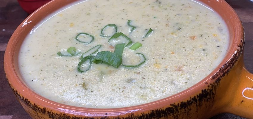 Instant Pot Healthy Broccoli Cheddar Soup Makes the Best Creamy Soup