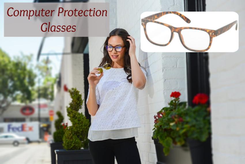 computer eye strain glasses