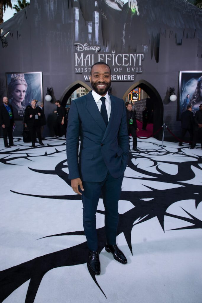 Chiwetel Ejiofor at El Capitan Maleficent World Premiere