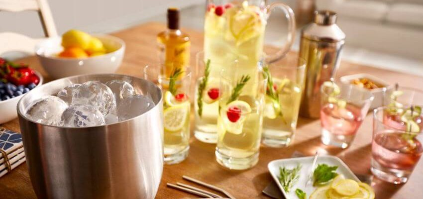 Creative Drinks with Ice Ball to Impress Your Guests