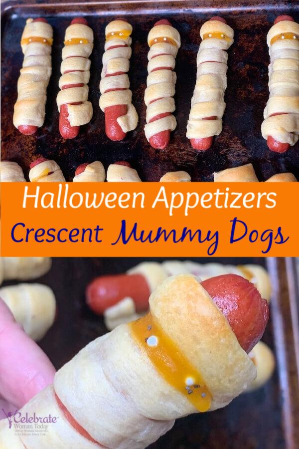 Halloween Crescent Mummy Appetizer