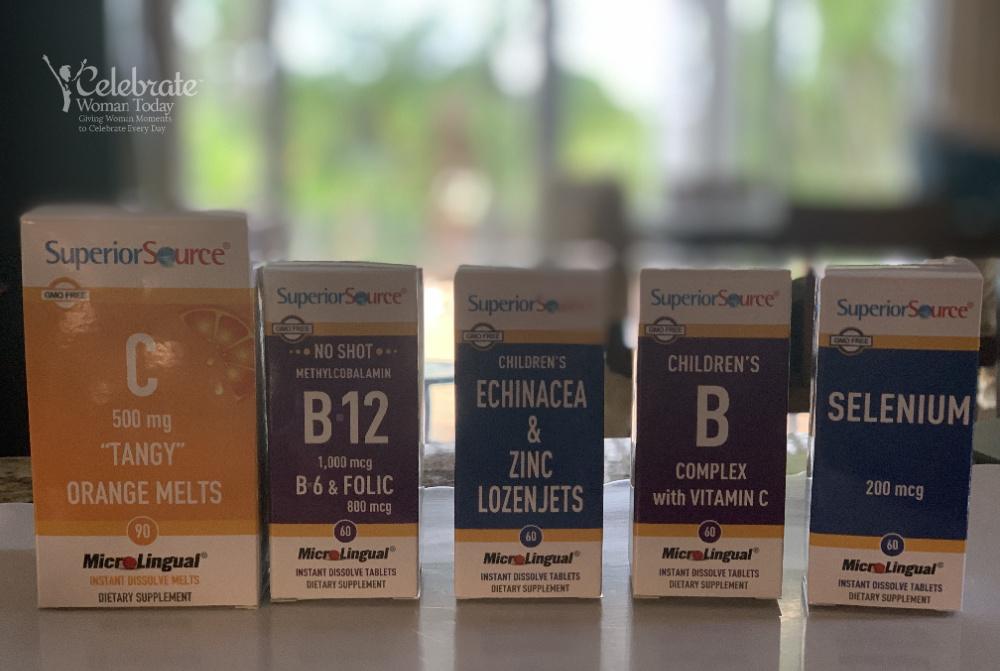 Microlingual vitamins for children