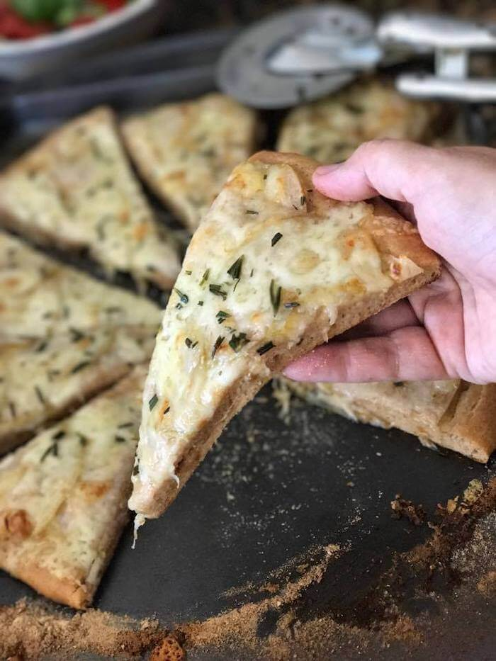 Pear Rosemary Flatbread recipe
