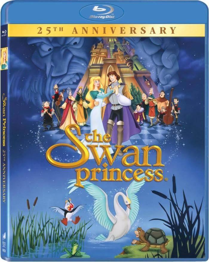 The Swan Princess animated classic blu-ray DVD