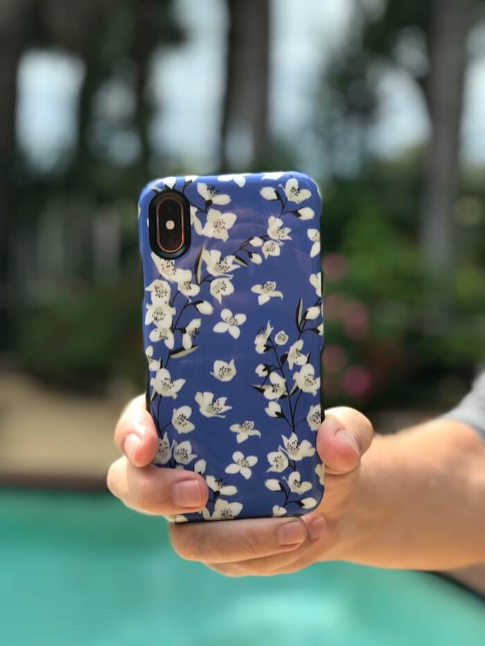 Casely iPhone case with floral design for women's gadgets gifts