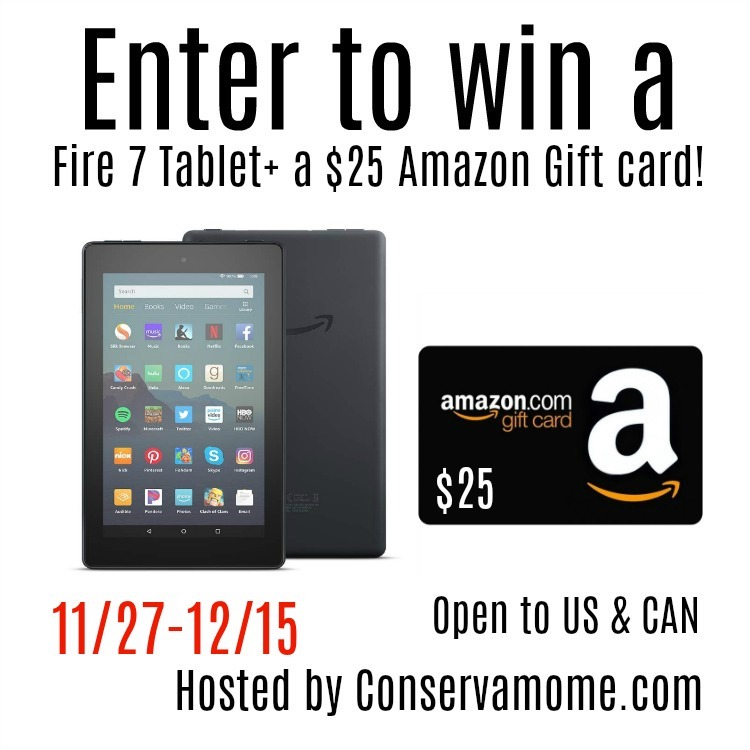 FIRE 7 TABLET giveaway