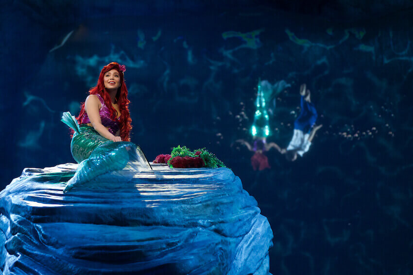 Ariel in The Little Mermaid LIVE