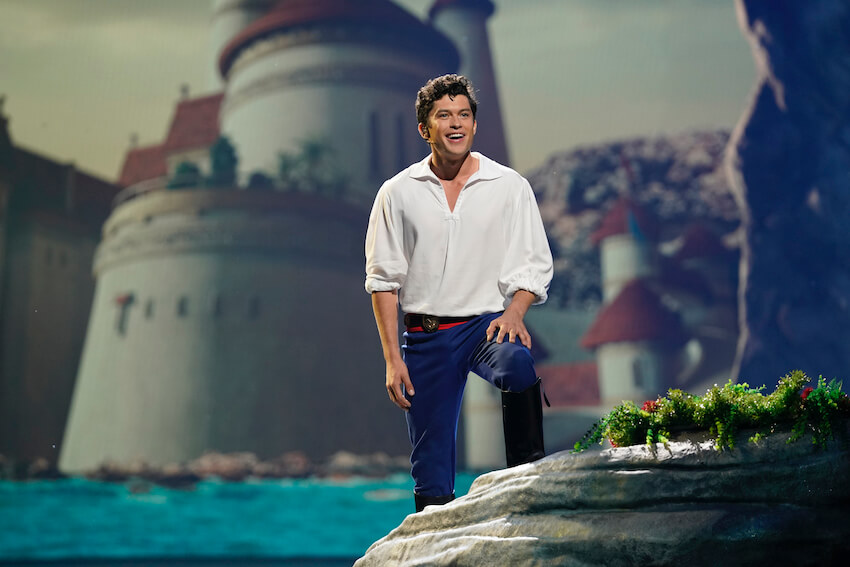 Prince Eric in The Little Mermaid LIVE